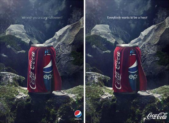 Competizione Coca Cola vs Pepsi