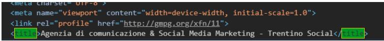 codice html Trentino Social